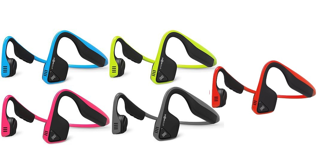 aftershokz trekz titanium colors