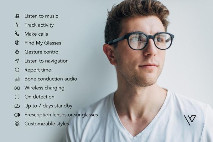 The future: Vue Bone conduction glasses and sunglasses