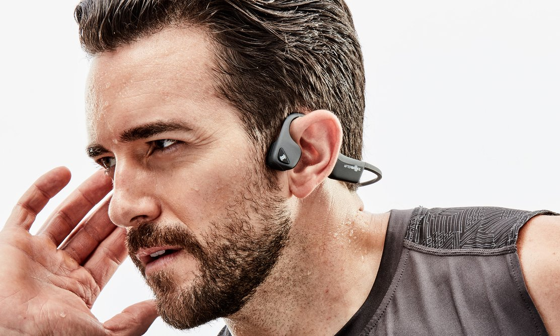 Aftershokz trekz air: perfecte workout hoofdtelefoon