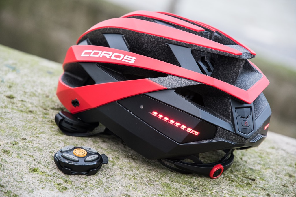 Coros Omni bone conduction bike helmet