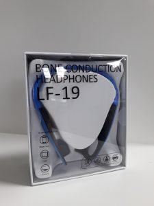 f-19 bone conduction headphones neatly delivered