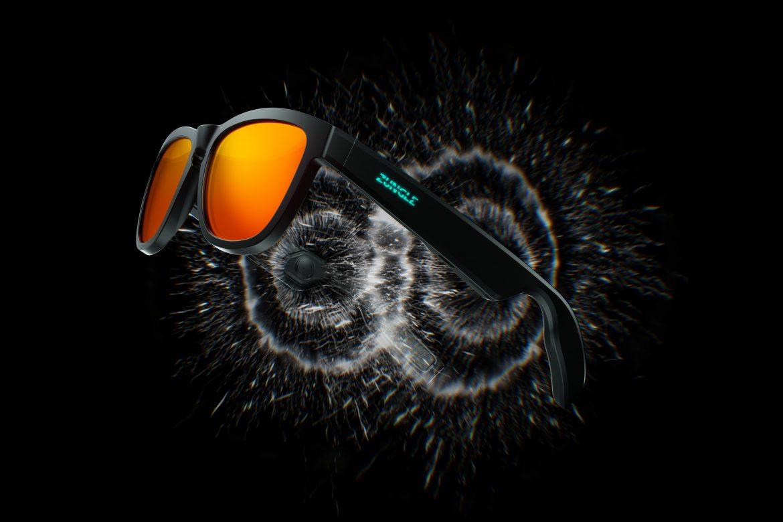 ZUNGLE führt V2 Knochenschall Sonnenbrillen Viper und Lynx ein