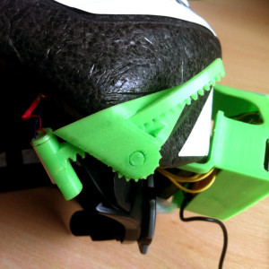 Bone conduction bicycle Helmet: 3d printed tool