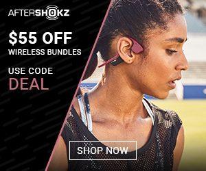 55$ off wireless bundle aftershokz promo code