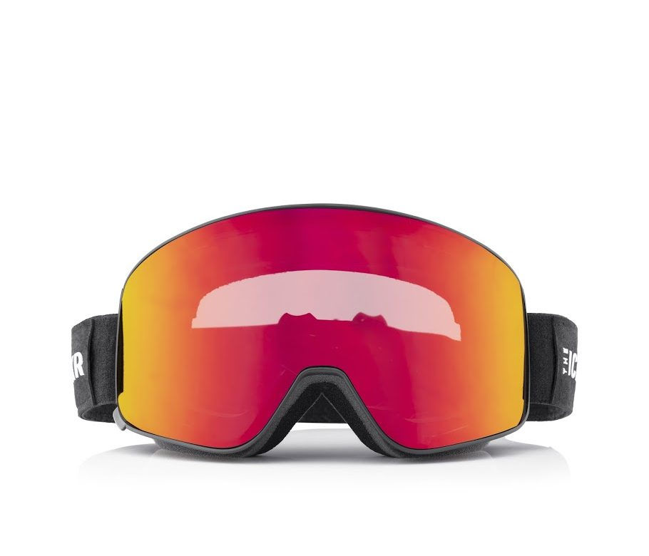 The IceBRKR ski goggles
