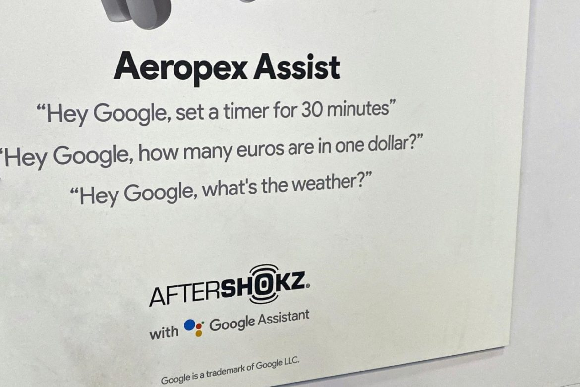 aeropex assist