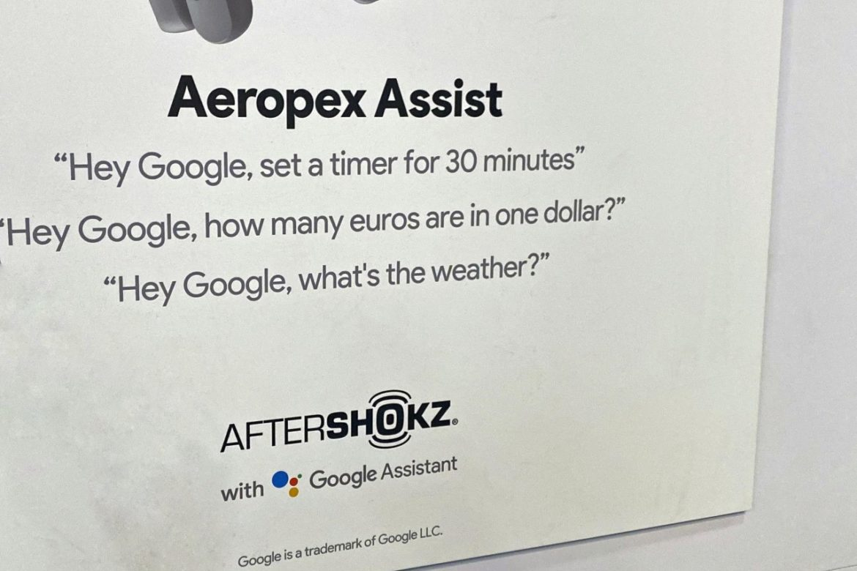 AfterShokz Aeropex Mini on CES 2020 & Aeropex Assist