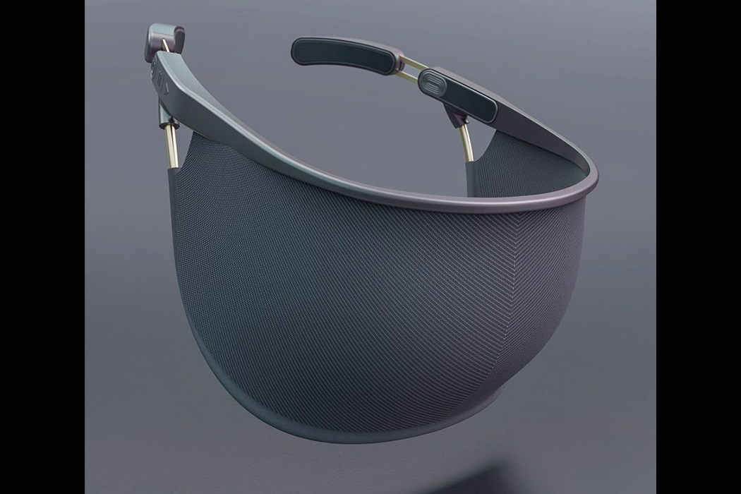 Innovative and futuristic bone conduction face mask